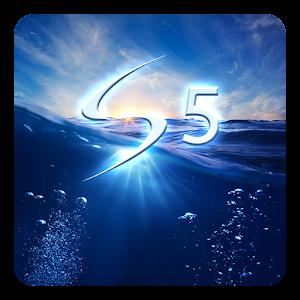 Galaxy S5 Sininen LWP APK