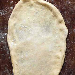 Grilled Pizza Dough.