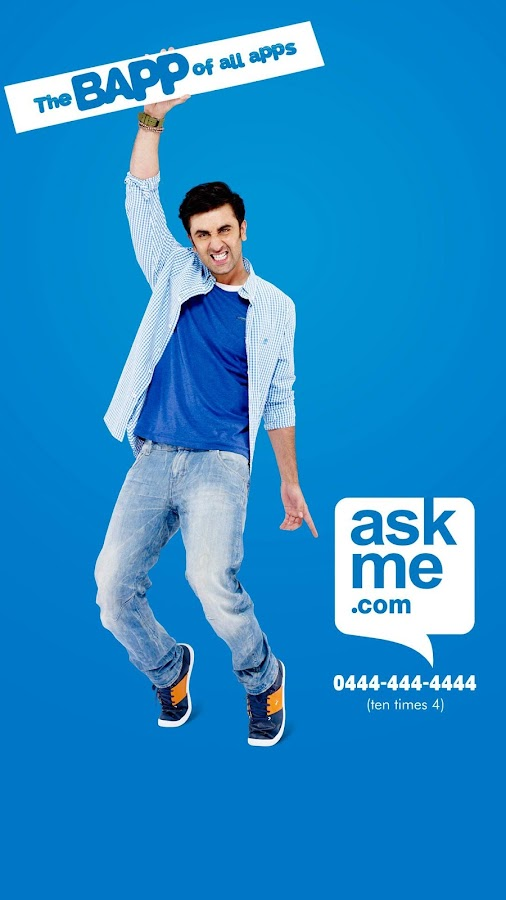 Ranbeer Kapoor for Ask me