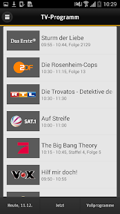 TV Manager für Smartphones Screenshot