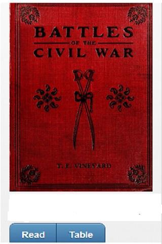 【免費書籍App】Battles of the Civil War-APP點子
