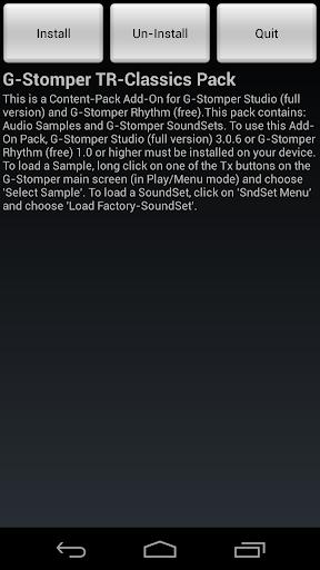 G-Stomper TR-Classics Pack