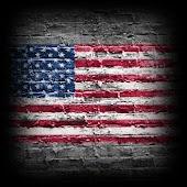 3D USA Cube Flag LWP