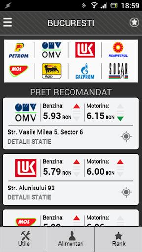 Peco PRO - Preturi carburanti