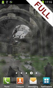 Scary Cemetery Live Wallpaper - screenshot thumbnail