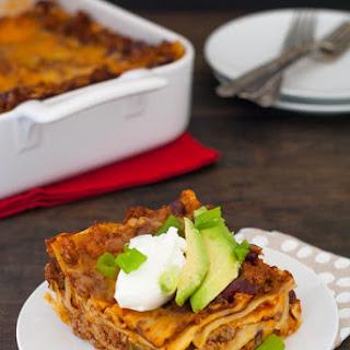 Gluten-Free Chili Lasagna