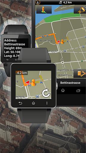 NAVIGON Smartwatch Connect