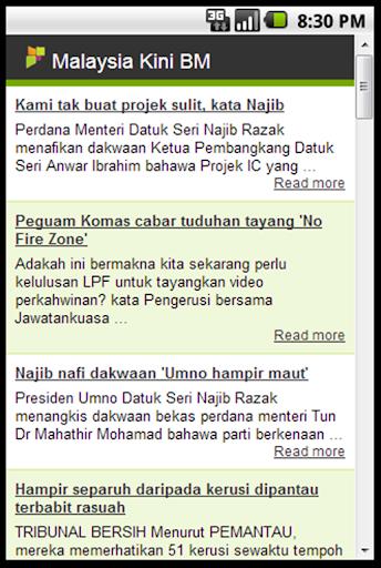 BM News Malaysiakini