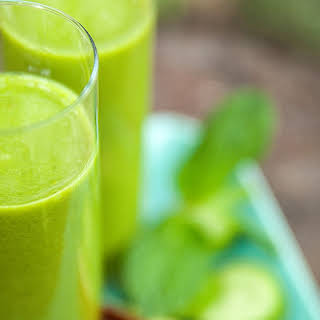 Cucumber Apple Mint Blast.