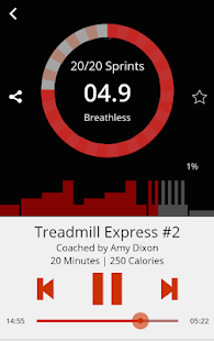 Motion Traxx – Audio Workouts- screenshot thumbnail