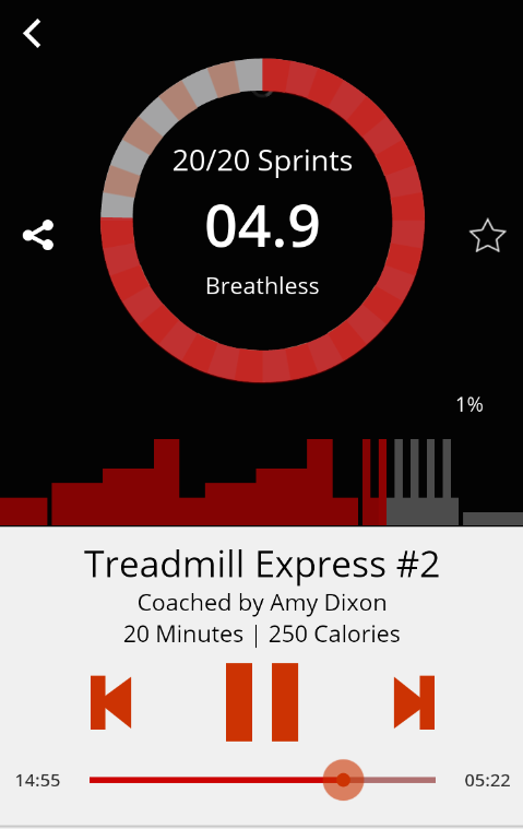 Motion Traxx – Audio Workouts- screenshot