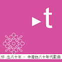 Trispur Music Chinese Songs80 logo
