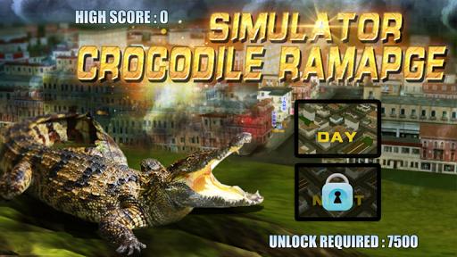 真正的鱷魚攻擊模擬遊戲
