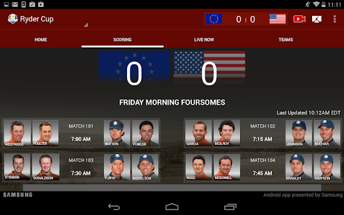 2014 Ryder Cup - screenshot thumbnail