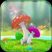 Amazing 3D Mushroom Garden