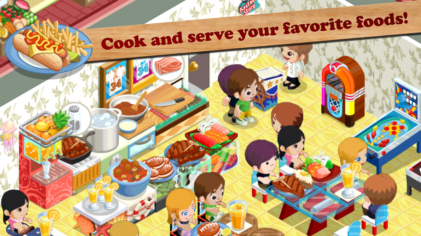 Restaurant Story Fast Food Android Apps On Google Play