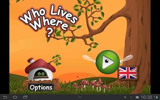 Screenshot of Who lives where?