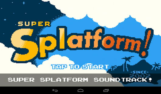 Super Splatform- screenshot thumbnail