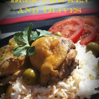 Slow Cooker Beer Chicken and Olives
