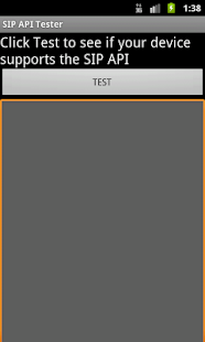 SIP API Tester- screenshot thumbnail