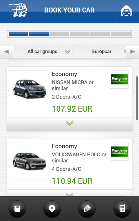 RentalCarGroup  Rent a Car- screenshot
