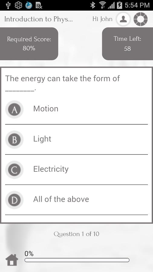 Learn Physics via Videos - screenshot