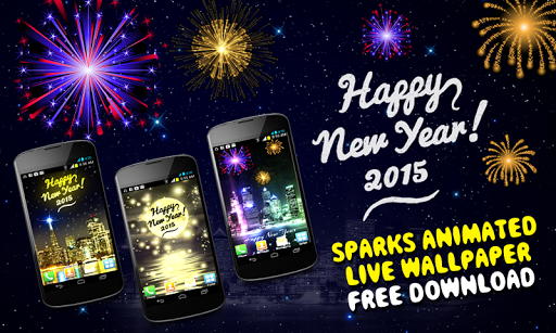 New Year Sparks 2015