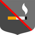 Smoking ban icon
