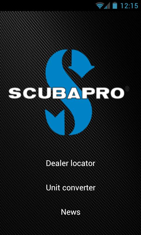 Scubapro - screenshot