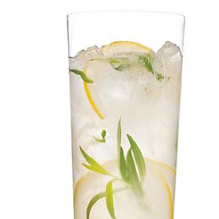 Sparkling Tarragon-Gin Lemonade.
