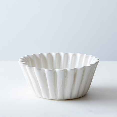 Porcelain Coffee Filter Bowl
