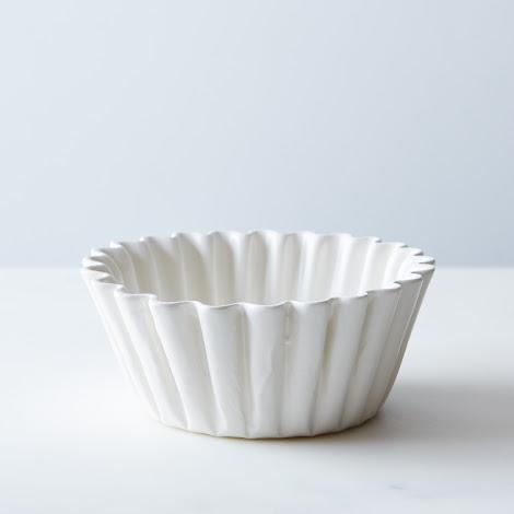 Porcelain Coffee Filter Bowl