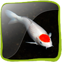 Koi Fish 3D logo