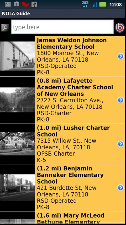 NOLA Parent's Guide- screenshot