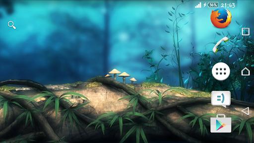 Theme eXPERIAnz Fantasy Forest для планшетов на Android