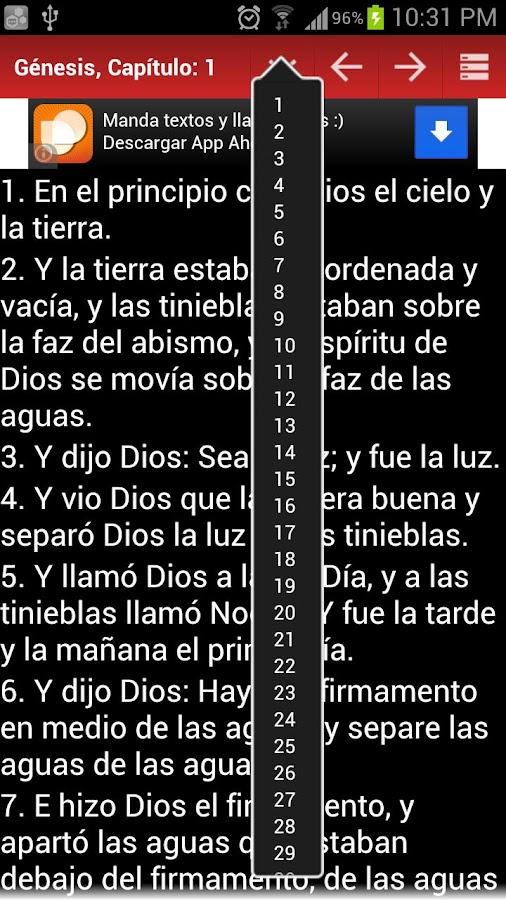 Biblia Reina Valera Gomez 2010 - screenshot