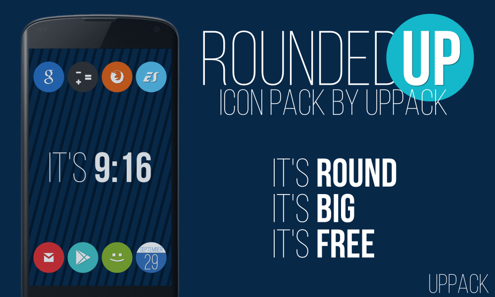 Rounded UP - icon pack- screenshot
