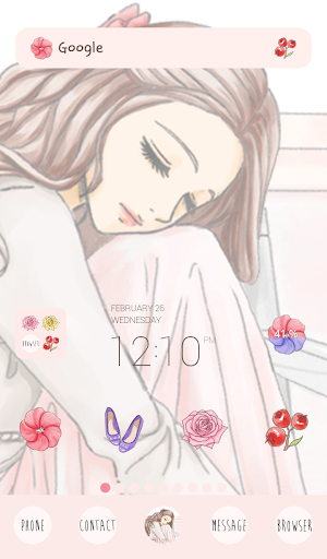 to girl pure dodol theme