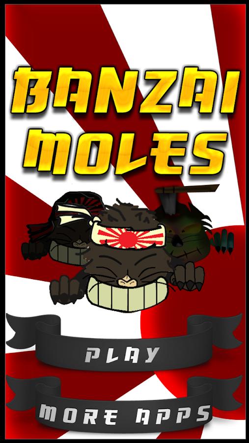 Banzai Moles - screenshot