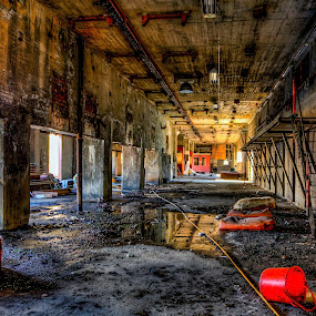 Abandoned by Sondre Gunleiksrud - Buildings & Architecture Decaying & Abandoned ( canon, industrial, hdr, factory, decay, abandoned, norway,  )