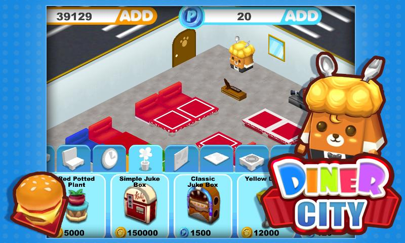 Diner City - Craft your dish- screenshot