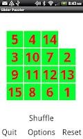 Screenshot of Slider Puzzle