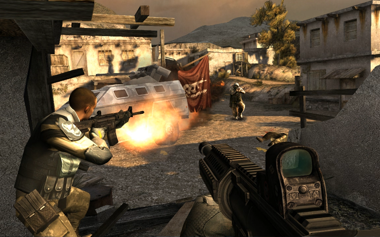 Modern Combat 3: Fallen Nation- screenshot