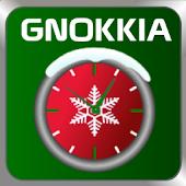 XMAS GNOKKIA FREE CLOCK
