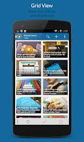 Screenshot of News+ | Google News RSS Reader