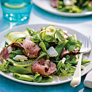 Grecian Steak Salad.