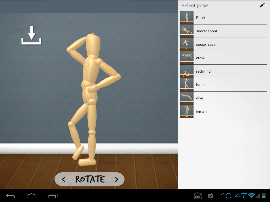 Woodenman Drawing Mannequin Screenshot