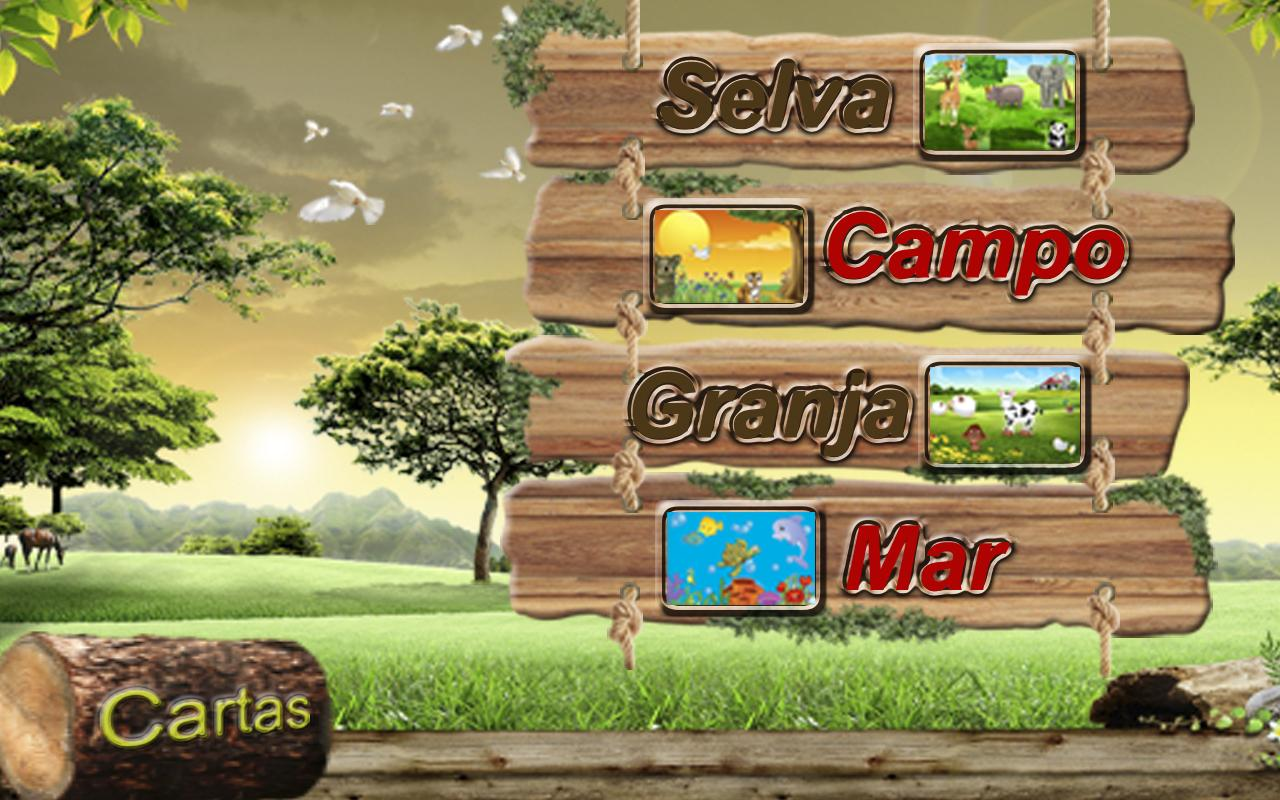 Animals: Learning Spanish - screenshot