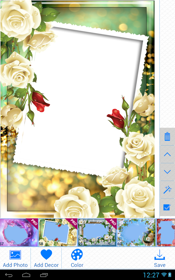 lovely photo frames screenshot