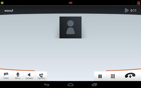 Linphone Video - screenshot thumbnail